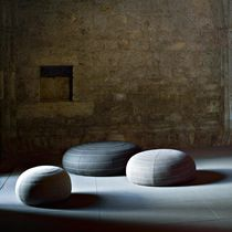 contemporary pouf SPIN by Claesson Koivisto Rune Tacchini