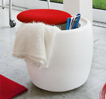 contemporary pouf with storage CANDY by Kazuyo Komoda Calligaris Italian home design since 1923