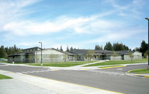 contemporary prefab building for school MARYSVILLE SCHOOL DISTRICT Williams Scotsman