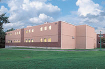 contemporary prefab building for school WACHUSETTS REGIONAL SCHOOL DISTRICT Williams Scotsman