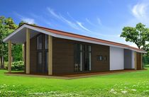 contemporary prefab house (wood framing) FG 94  ABSOLUT-BOIS