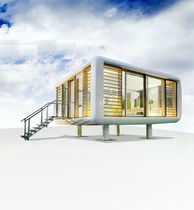 contemporary prefab micro-house  loftcube