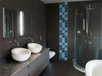 contemporary prefabricated bathroom SANICLASS Sanika