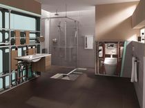 contemporary prefabricated bathroom  TECE Italia
