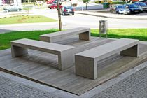 contemporary public bench in concrete R MODULAR Grupo Amop Synergies