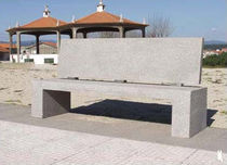 contemporary public bench in concrete SOLTAS RECTILINEAR Grupo Amop Synergies
