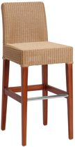 contemporary rattan bar stool 686L KOK MAISON