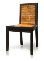 contemporary rattan chair  Tucker Robbins