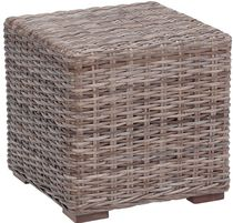 contemporary rattan coffee table 515G KOK MAISON