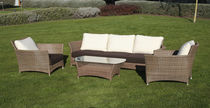 contemporary rattan garden sofa (recyclable product) JAIPUR Balliu Export