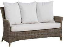 contemporary rattan sofa 427/2G KOK MAISON