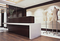 contemporary reception desk NEW YORK NY  Get Real Surfaces