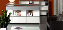 contemporary reception desk SYSTEM4&reg; MODULAR FURNITURE Infinita Corporation