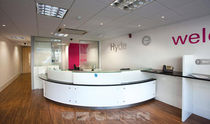 contemporary reception desk THE HYDE GROUP Clarke Rendall