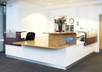 contemporary reception desk ST BRENDANS COLLEGE Clarke Rendall