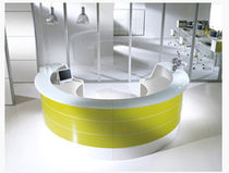 contemporary reception desk ESEDRA 01  MSL Interiors Ltd