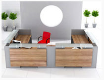 contemporary reception desk EXACT MSL Interiors Ltd