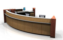 contemporary reception desk COUNTERSMART EVANS
