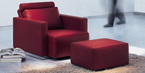 contemporary recliner armchair with footstool NELSON 602 by Eoos Walter Knoll