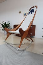 contemporary rocking chair  DECK LINE