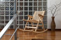 contemporary rocking chair REX Impakta Les d.o.o.