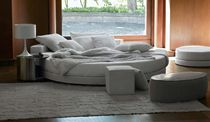 contemporary round double bed GLAMOUR by Ennio Arosio - Ivano Redaelli IVANO REDAELLI