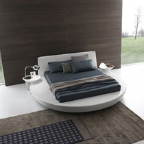 contemporary round double bed ZERO 3 Presotto Italia