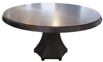 contemporary round extending table Amedeo Table Costantini Design