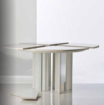 contemporary round extending table INSIEME ANCORA by Alberto Sala Bernini