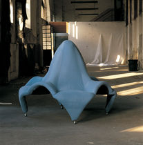 contemporary round sofa PHANTOM by Pietro Del Vaglio MIRABILI Arte d'Abitare