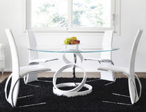 contemporary round table TRILOGY: TAV042 unico italia