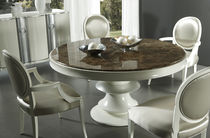 contemporary round table SAVOY Planum, Inc.