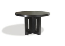 contemporary round wooden table SAMARA Michael Trayler Designs ltd.