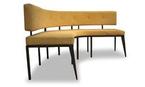 contemporary semi circle upholstered bench YI BOOTH Costantini Design
