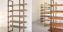contemporary shelf in certified wood (FSC-certified) SINGER SHELVES 1 by Russell Pinch BENCHMARK