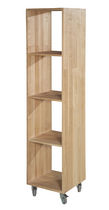 contemporary shelf with casters AGAMEMNON Coco-Mat