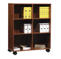 contemporary shelf with casters  Office Furniture Group