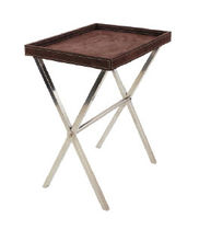 contemporary side table SAM SCISSOR LEG BUTLERS TRAY Urban Cape