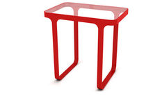 contemporary side table TRACE by Stefan Bench 2007 Naught One