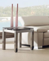 contemporary side table with casters ROLBLOC Ghekiere Industries