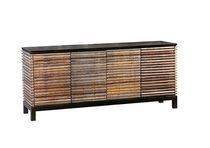 contemporary sideboard table in certified wood (FSC-certified) LOTUS environment furniture