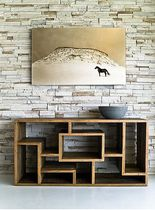 contemporary sideboard table in certified wood (FSC-certified) DUMONT environment furniture