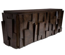 contemporary sideboard table in reclaimed wood FACETED  Hudson Furniture