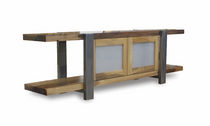 contemporary sideboard table in reclaimed wood DILORENZO Costantini Design