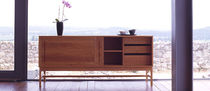 contemporary sideboard with high legs 006 ATLANTICO by De La Espada DE LA ESPADA