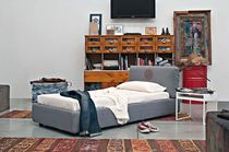 contemporary single bed PERVINCA DENIM Evve