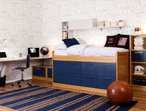 contemporary single bed with drawers  Asoral