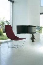 contemporary sled base armchair ACE by Jean-Marie Massaud Viccarbe