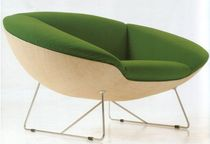 contemporary sled base armchair ZEP GASPARUCCI