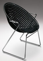 contemporary sled base chair ZULU MAMA Haldane Martin